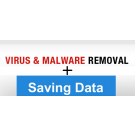 Virus removal service AND keeping data